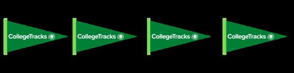 CollegeTracks Pennant Strip